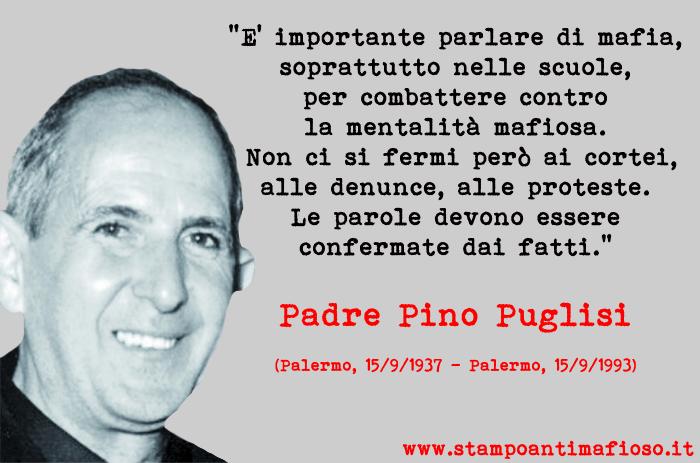 D'Avenia racconta padre Pino Puglisi#antimafia